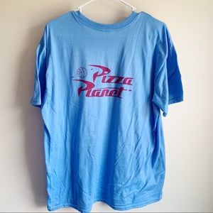 Pizza Planet Toy Story Graphic Tee T-shirt unisex